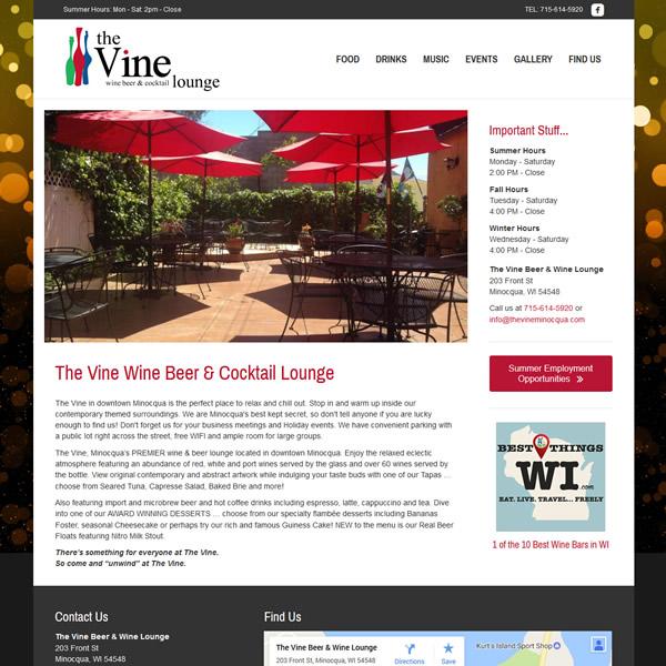 The Vine Minocqua